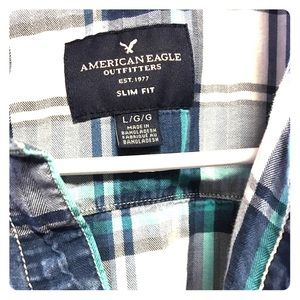 American Eagle long sleeve button down.